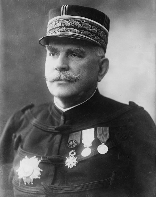 Joseph Joffre, chef d'état-major général des armées